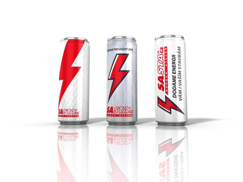 energetické nápoje Sasta